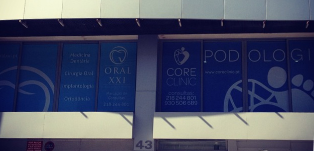 instalações exteriror core clinic1