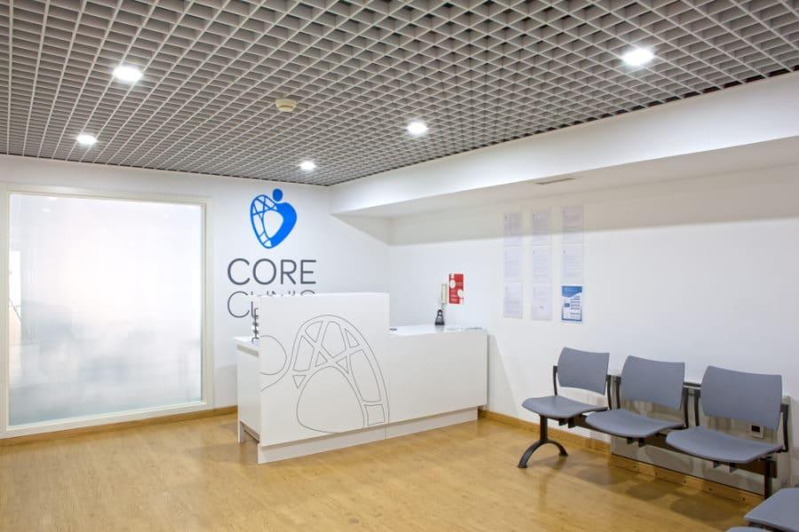 Core Clinic - Clinica De Podologia Em Lisboa - Receção